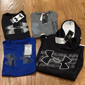 NWT Under Armour shirts